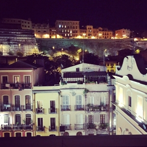 Cagliari at Night