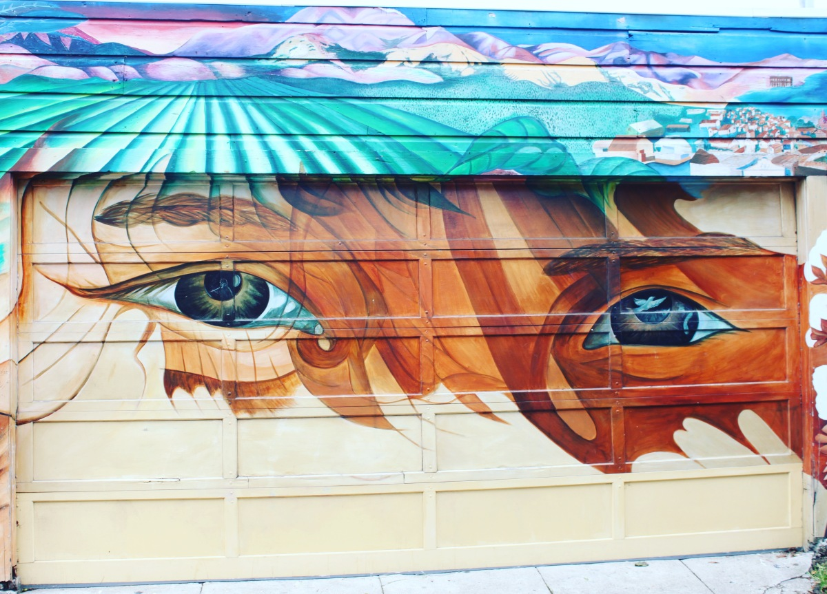 Mission District murals - San Francisco